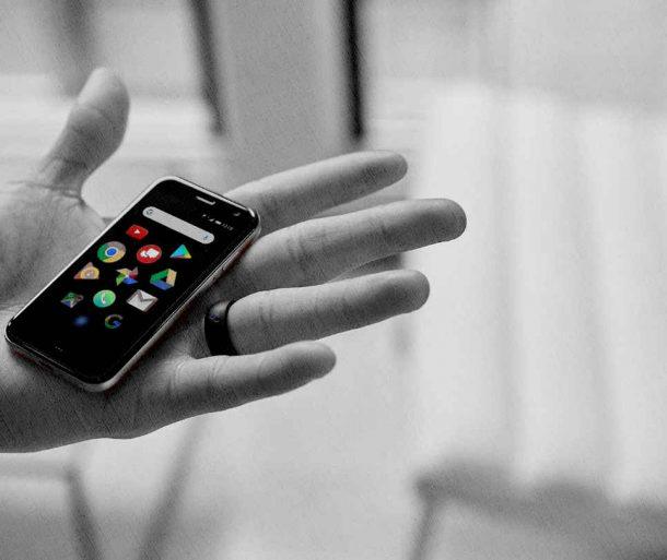 самый маленький смартфон