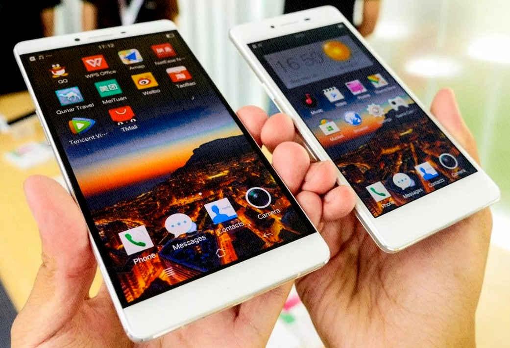 китайские смартфоны удивили своей внешностью и качеством