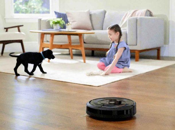 робот пылесос не заметен для животных и детей