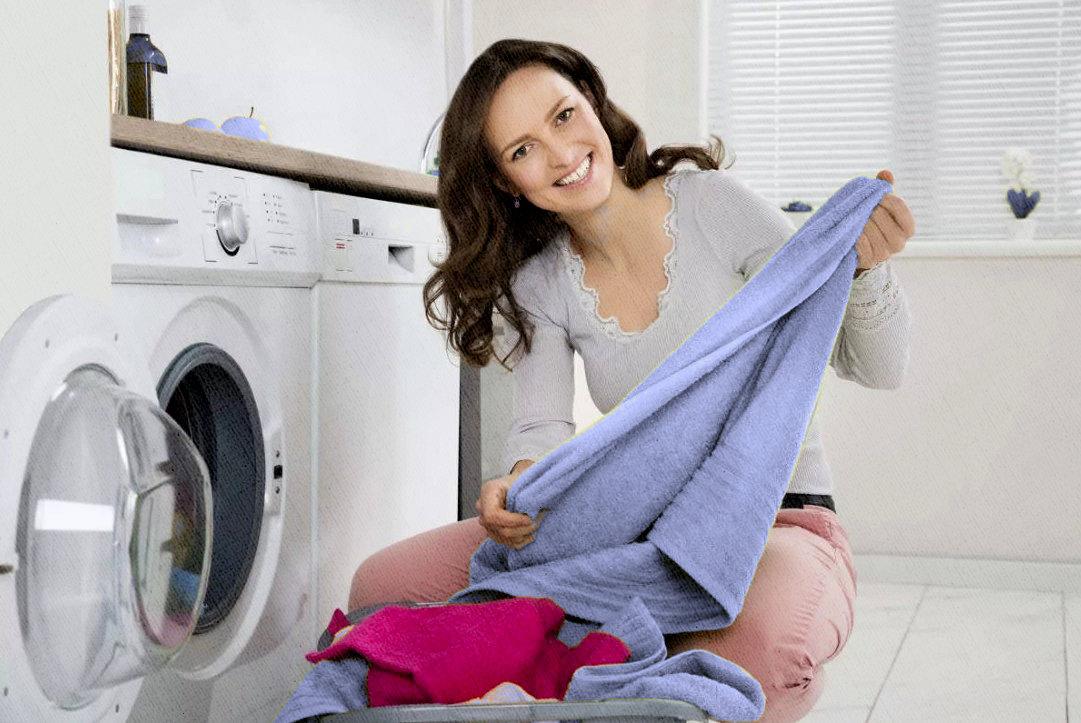 стиральная машина хорошо отстирала вещи
