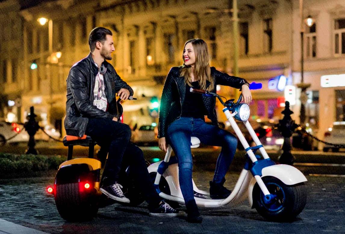 электросамокаты для девушек и парней для долгих прогулок и для поездок за город