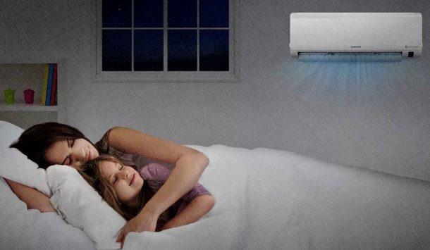 кондиционер работает, а вы спите, без шумно и качественно
