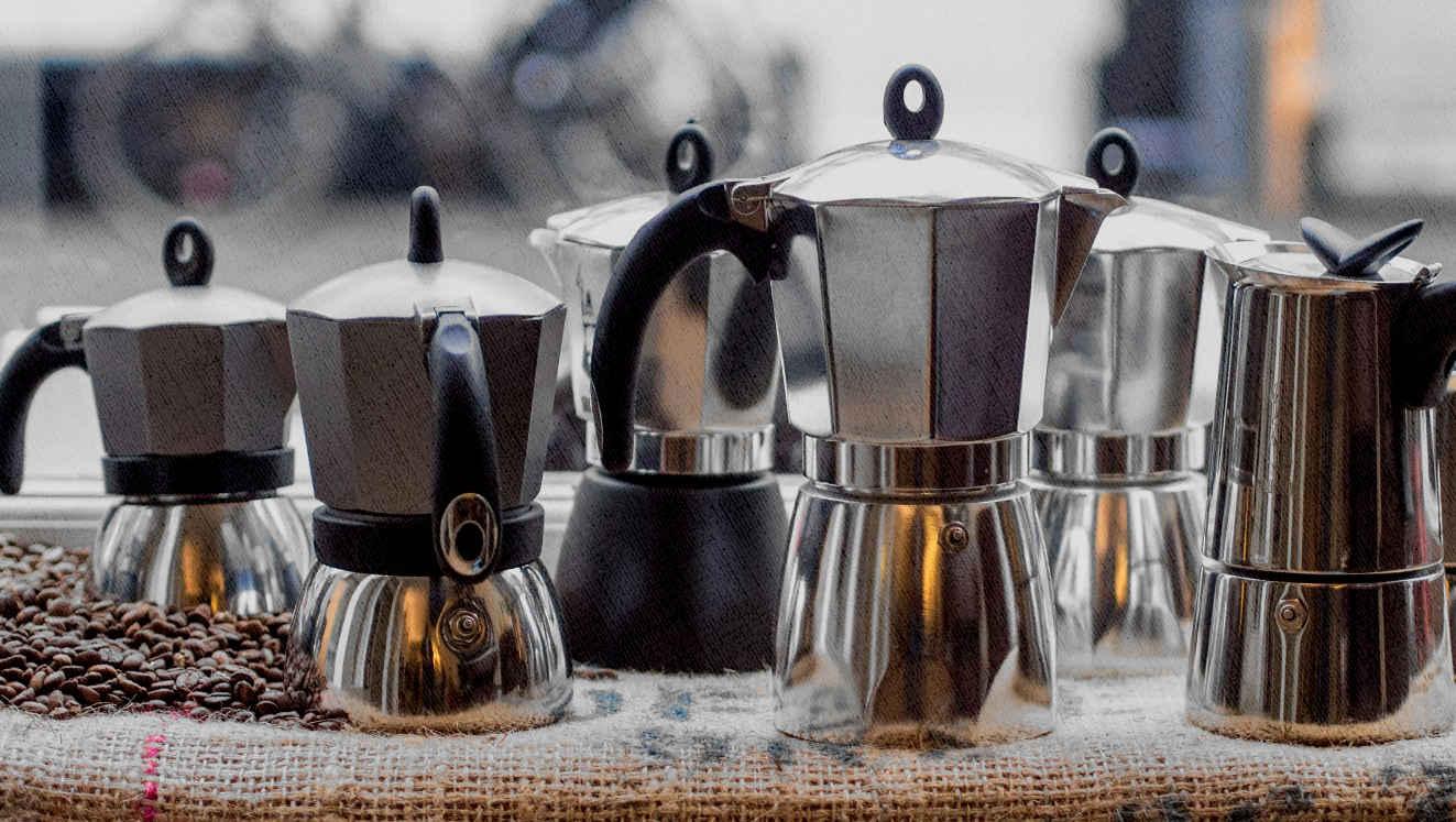 много гейзерных кофеварок - есть что выбрать