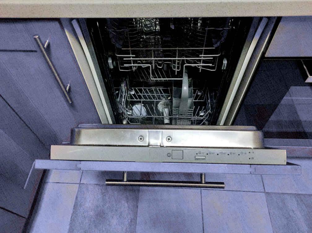 посудомойка, которая заслуживает оплодисментов