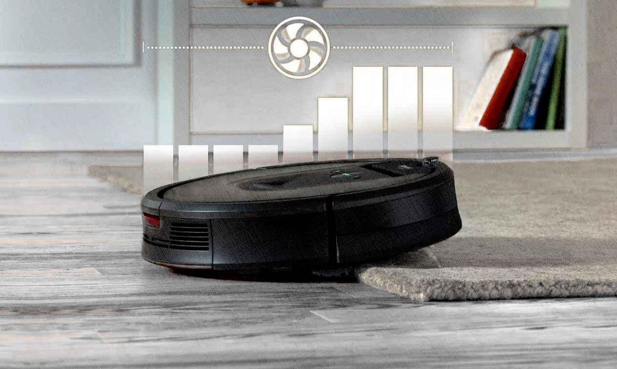 робот пылесос может переезжать пороги понимая что перед ним