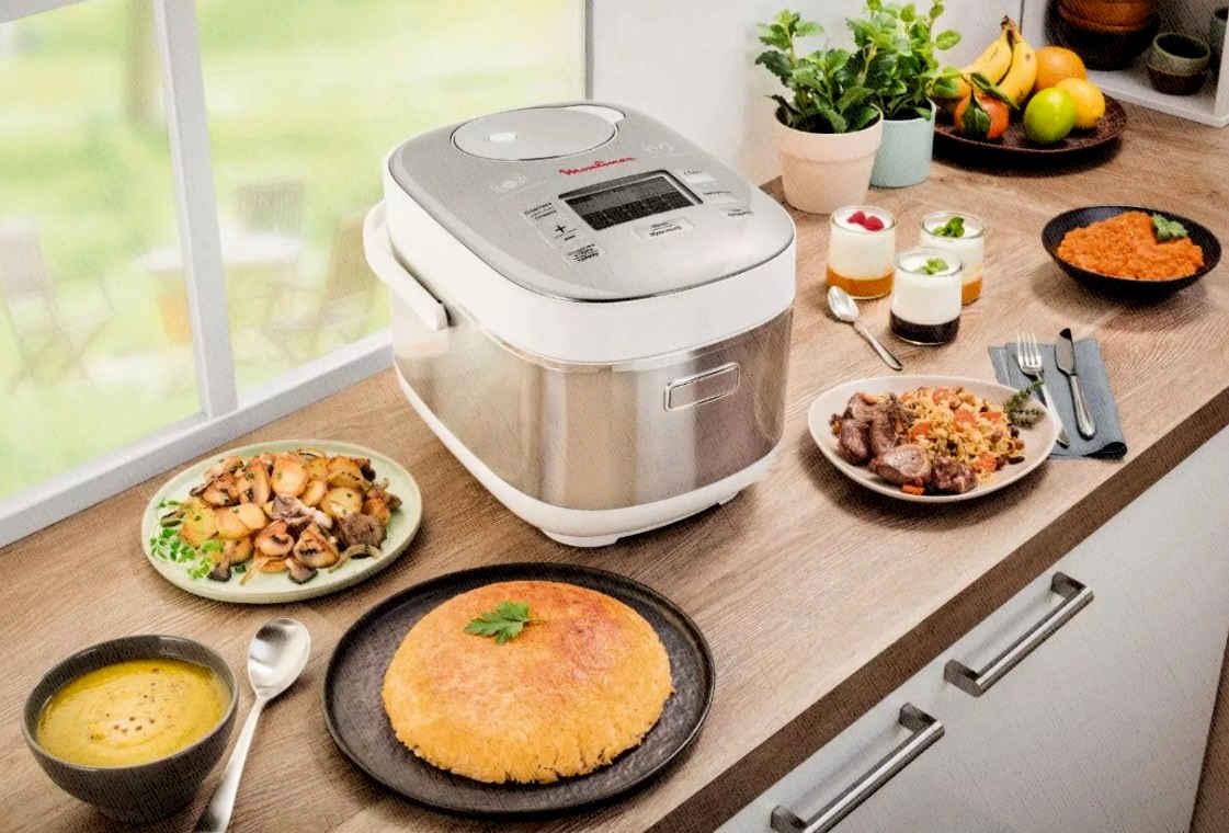 мультиварка с шеф поваром поможет и домохозяйке и холостяку приготовить еду