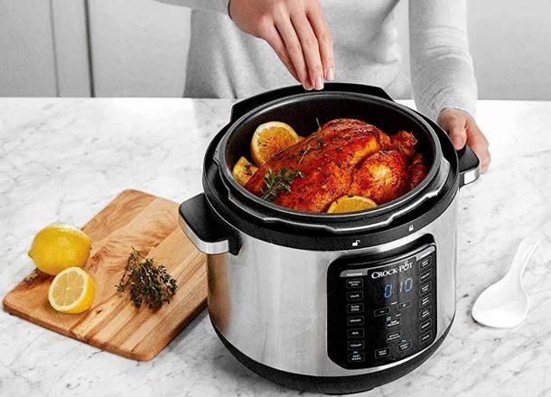 мультиварка-скороварка которая позволит приготовить цыпленка или курицу прям дома на кухне