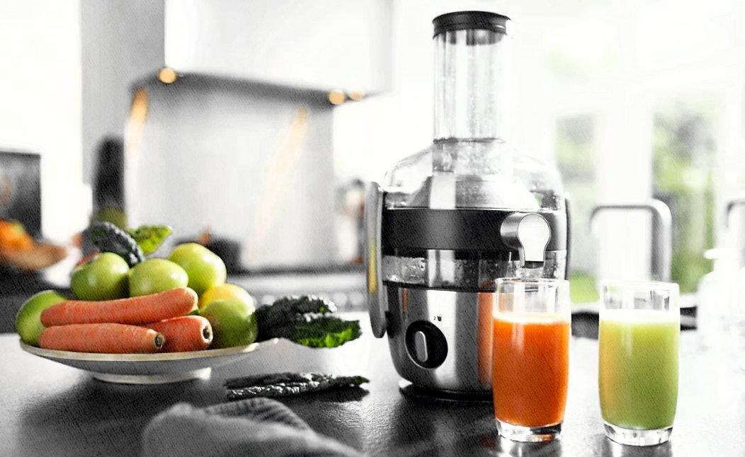 соковыжималка центрифужная для дома для овощей и фруктов