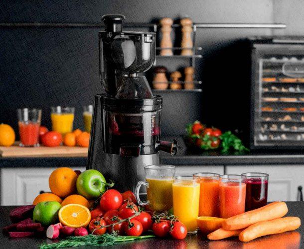 соковыжималка шнековая для фруктов и овощей
