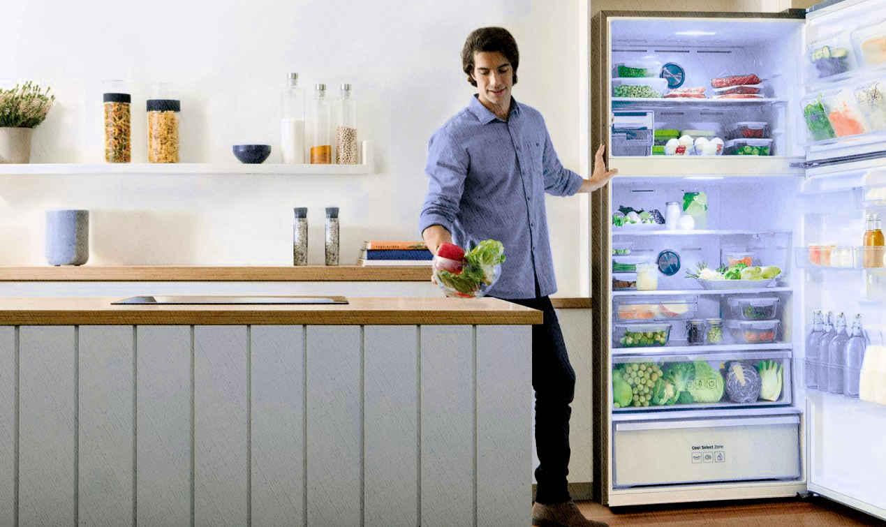 большой холодильник без морозилки