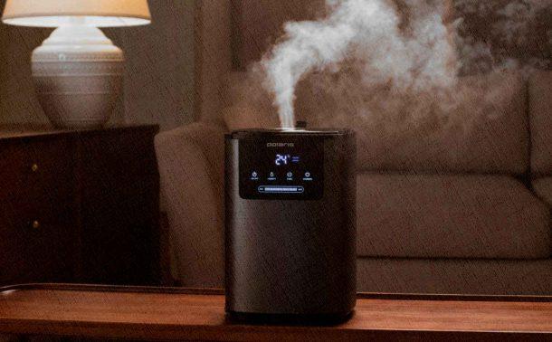 увлажнитель воздуха уже в 2021 увлажняет воздух в комнате