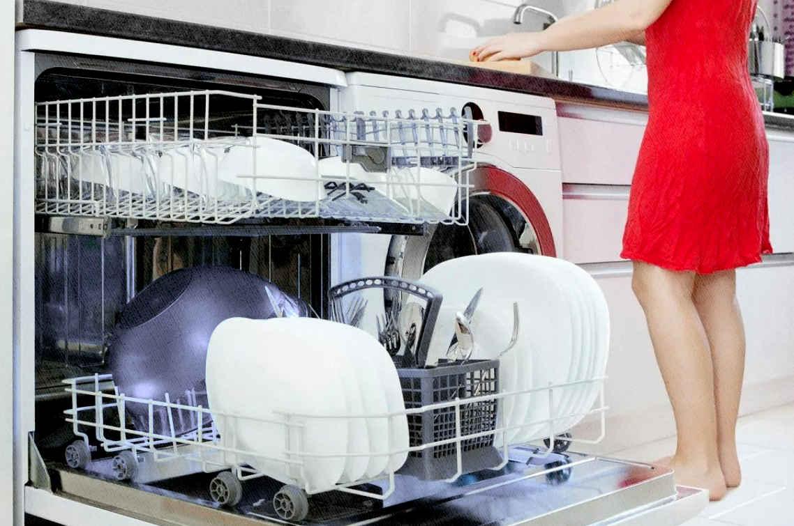 посудомойка помыла посуду 2021 году чисто быстро и экономно
