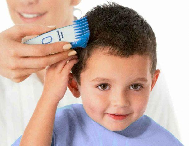 машинка для стрижки детских волос на голове, которая понравится ребенку так как не будет дергать волосы