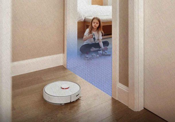 робот пылесос знает куда можно ехать куда нельзя управление с мобильного