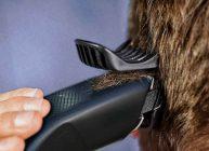стригут не профессионалы машинкой для стрижки волос парня дома