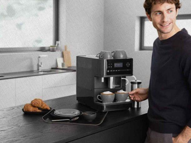 кофемашина дома у семьи которая купила ее по рекомендациям Ростислава Кузьмина из блога