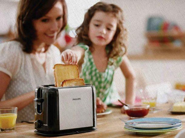 тостер который отлично справляется со своими функциями на кухне в семье куплен в 2021 году из рейтинга Ростислава